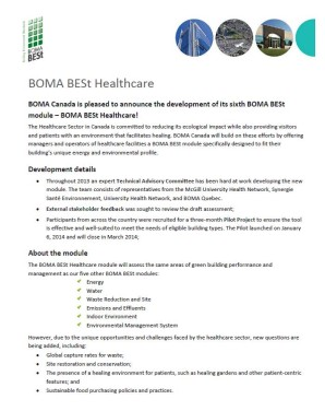 BOMA BESt Healthcare