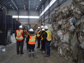 A Waste Tour: EHS Committee Visits BFI Facility