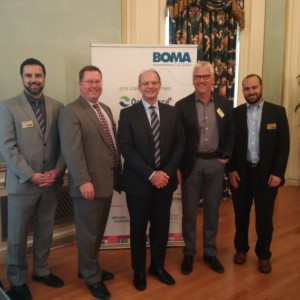 BOMA Executives & Jeff Fielding
