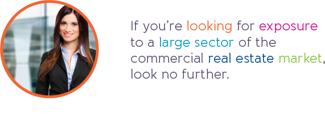 If you're looking for exposure to a large sector of the commercial real estate market, look no further.